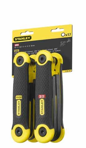 17-dílná nožová sada zástrčných klíčů Stanley 2-69-267