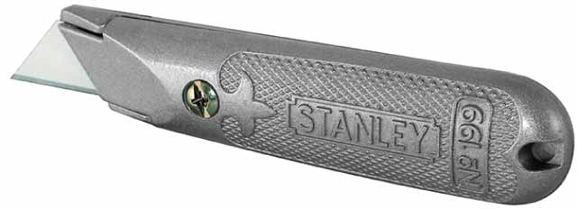 Kovový nůž s pevnou čepelí 199E Stanley 1-10-199