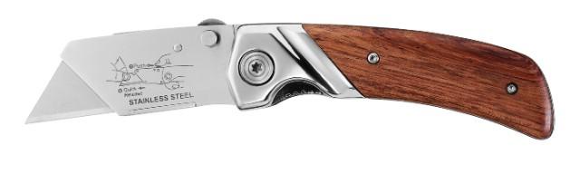 Stanley® zavírací nůž s dřevěnou střenkou Stanley 0-10-074