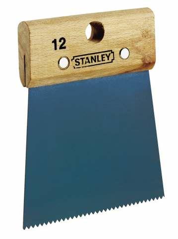 Stěrka na lepidlo s jemnými zoubky Stanley 1-28-957
