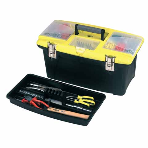 Box na nářadí JUMBO s kovovými přazkami Stanley 1-92-906