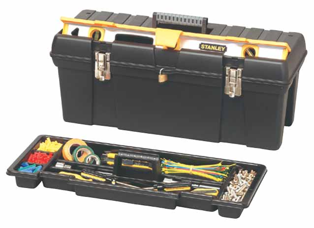 Box na nářadí s držákem vodováhy Stanley 1-92-850