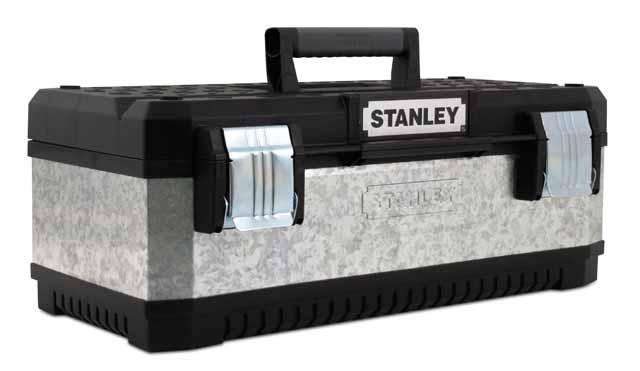 Kovoplastový box na nářadí - Galvanizovaný Stanley 1-95-618
