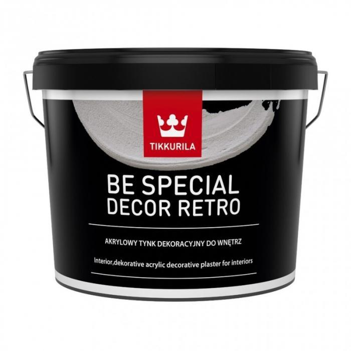 Tikkurila Be Special Decor Retro interierová vnitřní dekorační stěrka 14 Kg
