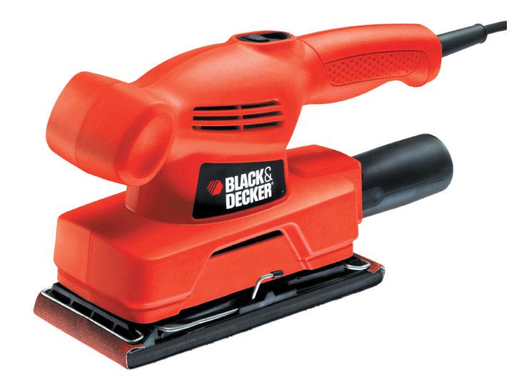 Black & Decker KA300 Vibrační bruska 135 W pro 1/3 listu brusného papíru