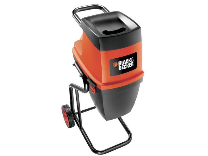 Black & Decker GS2400 Drtič zahradního odpadu 2400 W s tichým chodem