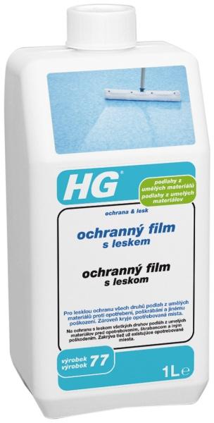 HG ochranný film s leskem pro podlahy z umělých materiálů (ochrana & lesk)