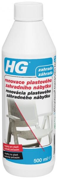 HG renovace plastového zahradního nábytku