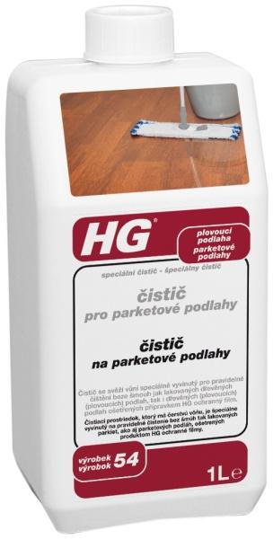 HG čistič pro parketové podlahy (speciální čistič)