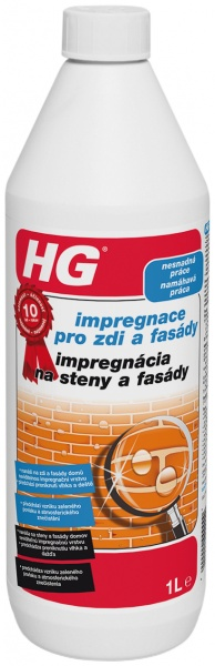 HG impregnace pro zdi a fasády