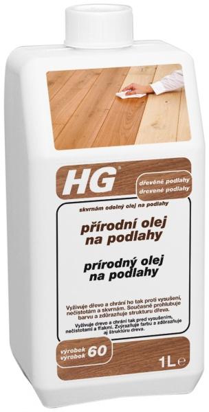 HG přírodní olej na podlahy (skvrnám odolný olej na podlahy)
