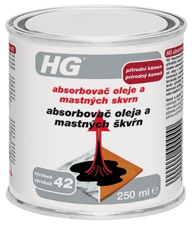 HG absorbovač olejových a mastných skvrn z přírodního kamene