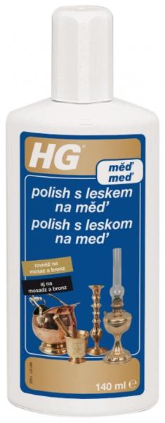 HG polish s leskem na měď