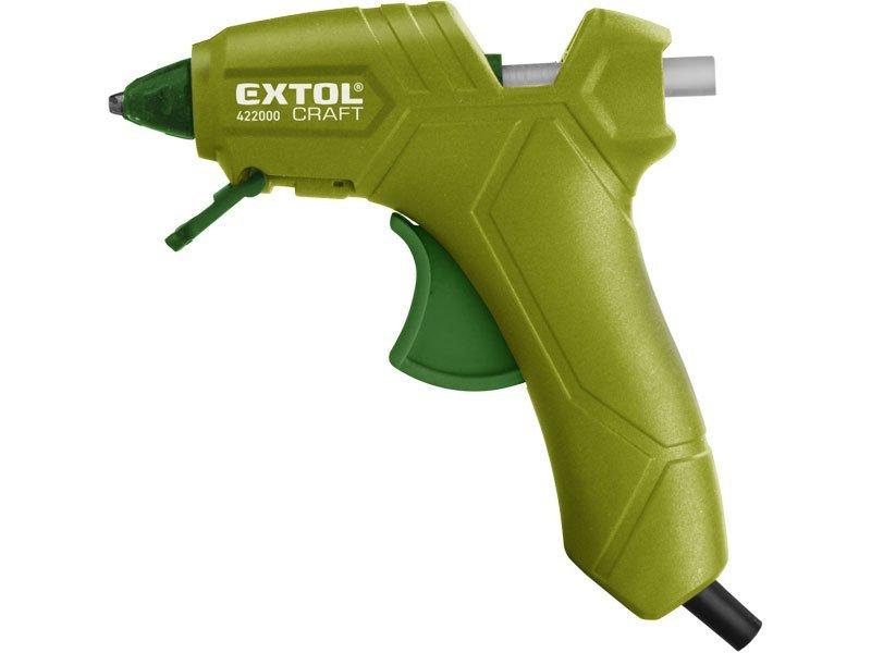EXTOL CRAFT Pistole tavná lepící, Ř7,2mm, 25W,
