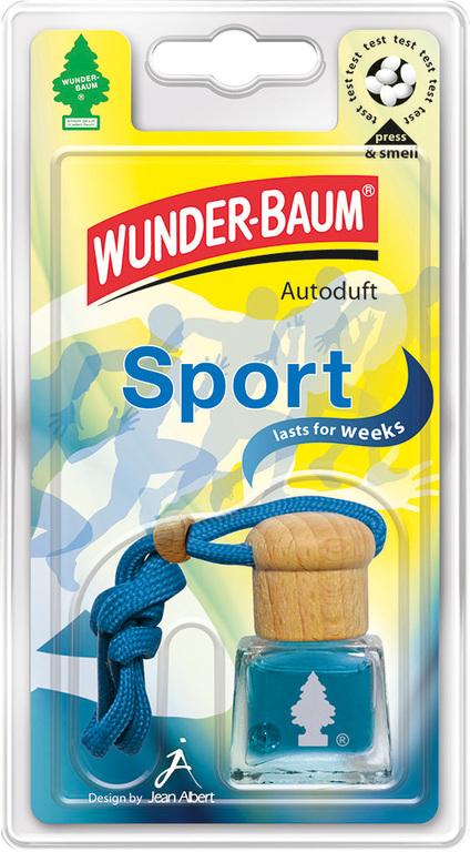 Tekutý osvěžovač WUNDER-BAUM® Sport