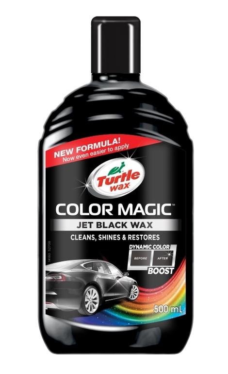 Turtle Wax ® Barevný vosk - černý 500ml