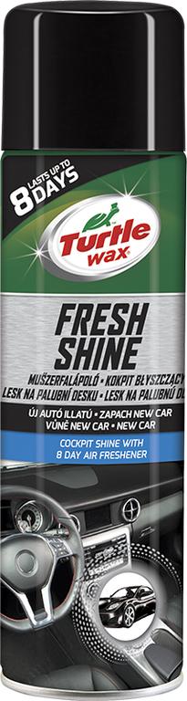 Turtle Wax ® Lesk na palubní desku s osvěžovačem vzduchu - New Car 500ml