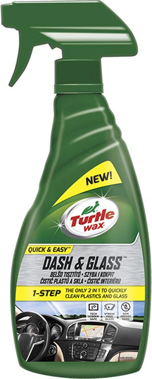 Turtle Wax ® Sklo a plast – 2 v 1 500ml