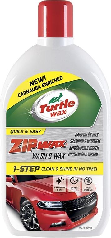 Turtle Wax ® ZIP WAX Autošampon s voskem 500 ml