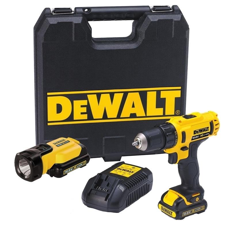 DeWALT DCD710D2 + svítilna DCL508 ZDARMA
