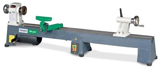 Holzstar® 5920450 soustruh na dřevo DB 450