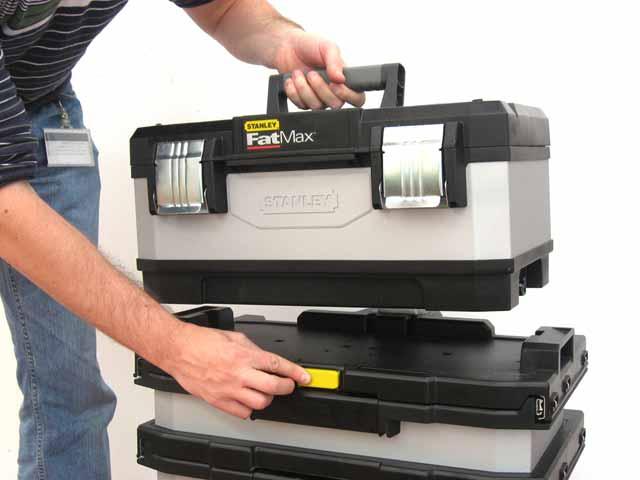 FatMax® kovo plastový pojízdný montážní box Stanley 1-95-622