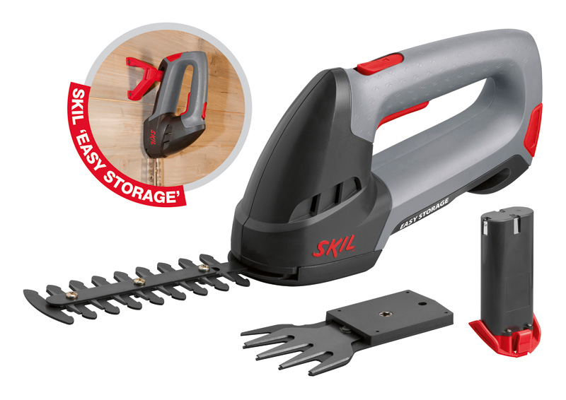 Skil 0750 Akumulátorové nůžky na tvarování ozdobných keřů / trávu