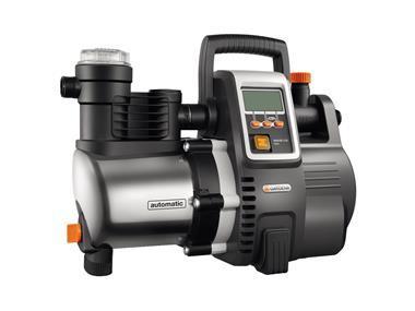 GARDENA Domovní vodní automat 6000/6E LCD,Inox Premium