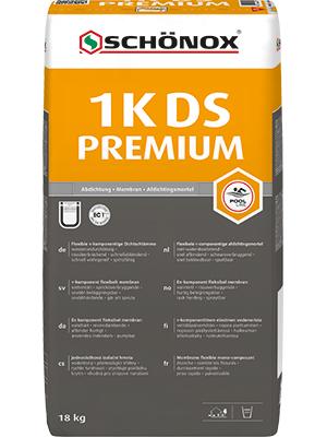 SCHÖNOX 1K DS PREMIUM Bg 18KG cementová hydroizolační stěrka