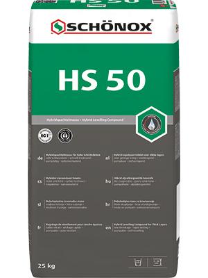 SCHÖNOX HS 50 Bg 25KG nivelační stěrka
