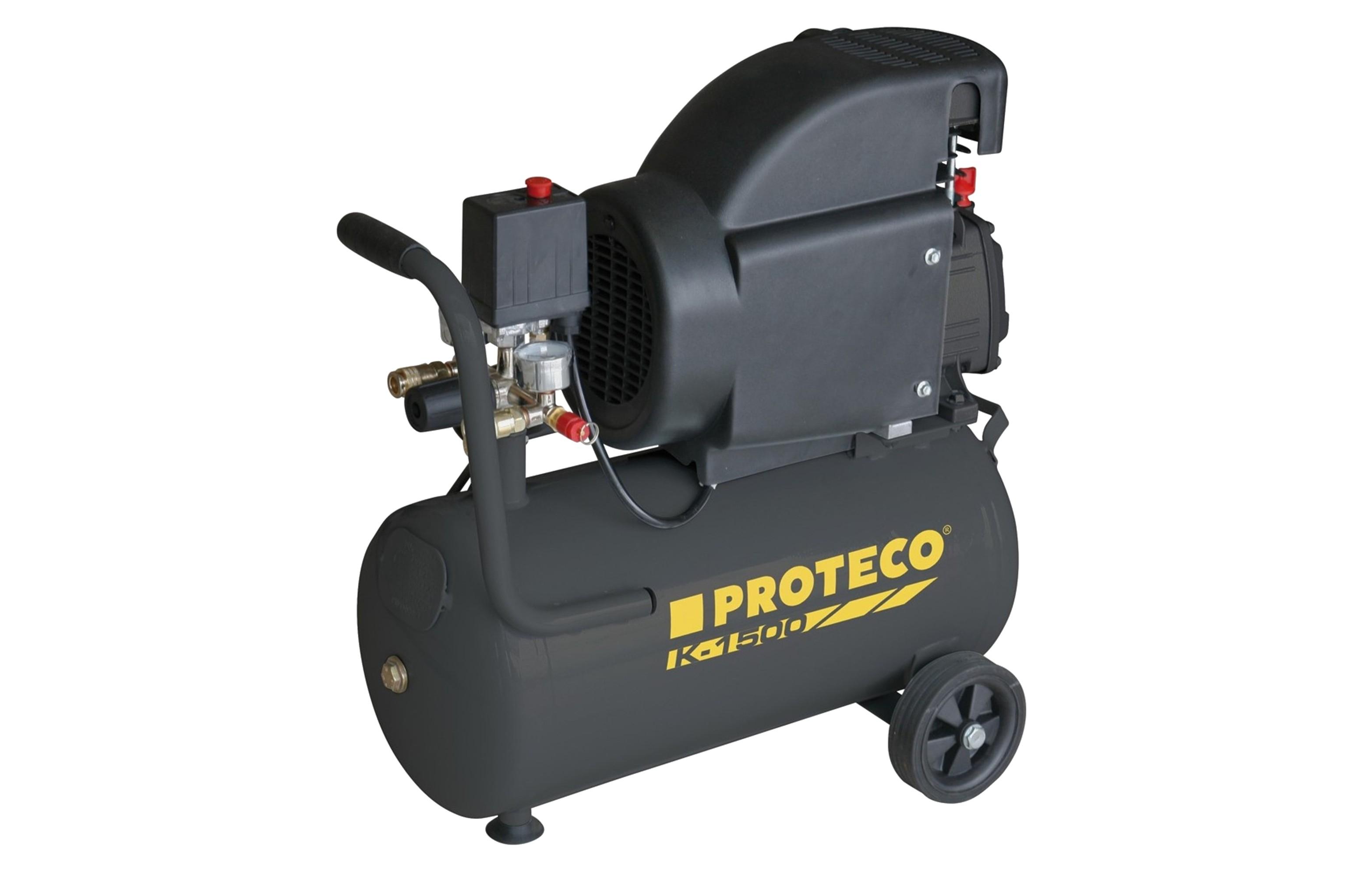 PROTECO 51.02-K-1500 kompresor 1.5kW, nádoba 24L