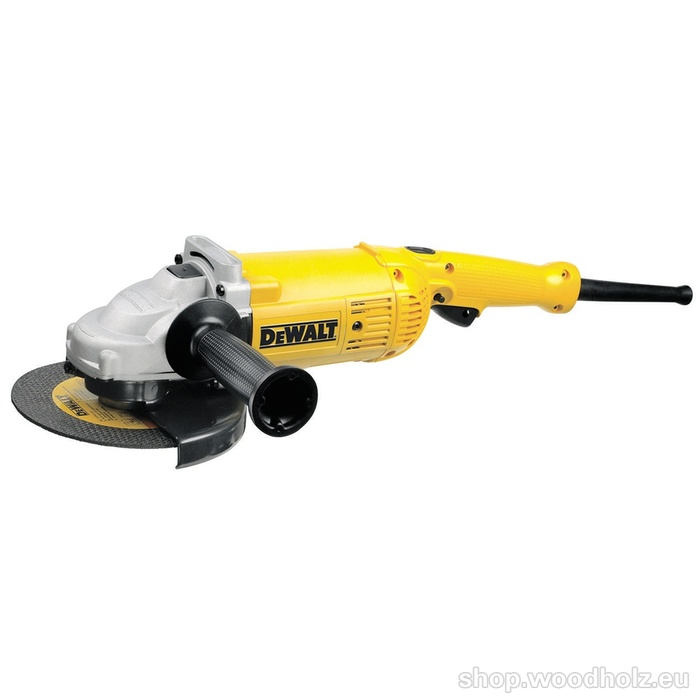 DeWALT D28492S 230mm úhlová bruska s rozběhem