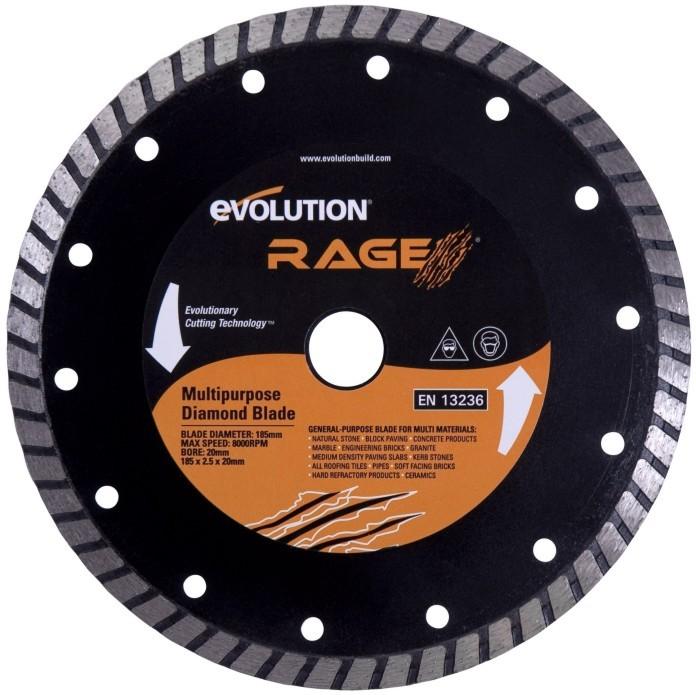 EVOLUTION kotouč 185mm RAGE diamantový