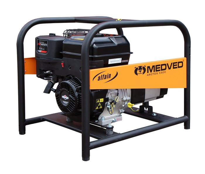MEDVED ARCTOS 5000 B 1-fázová elektrocentrála