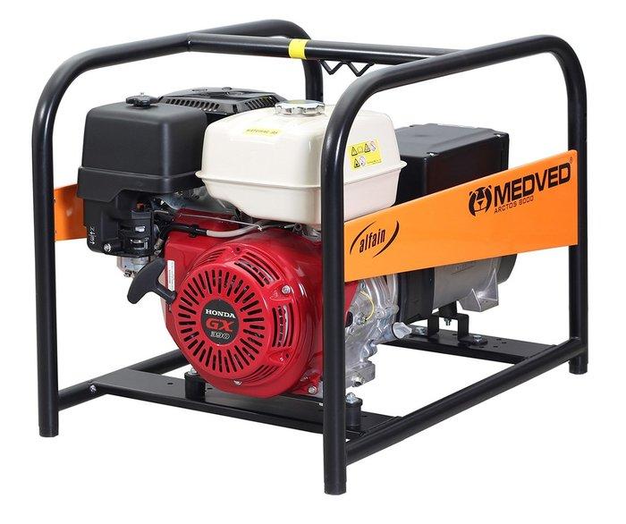 MEDVED ARCTOS 9000 H 1-fázová elektrocentrála