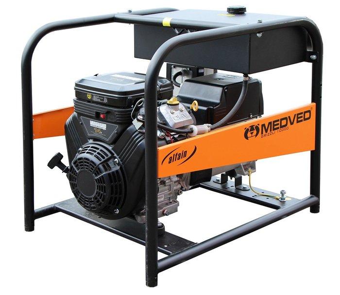 MEDVED ARCTOS 10000 V 1-fázová elektrocentrála