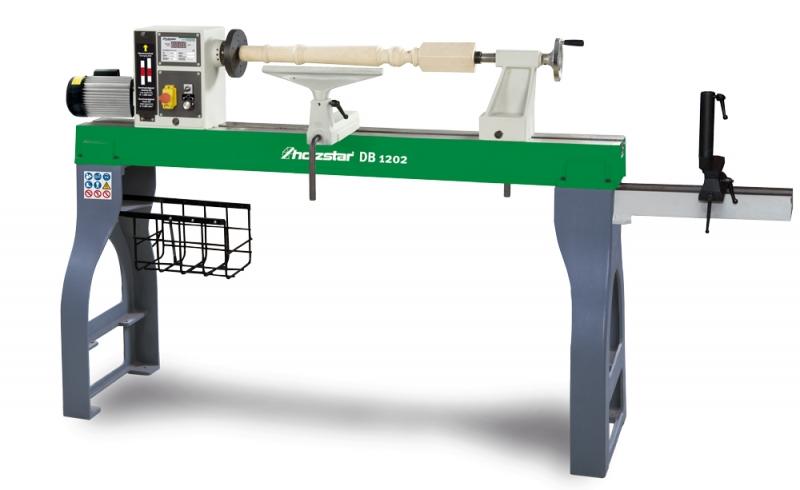 Holzstar® 5921202 soustruh na dřevo DB 1202