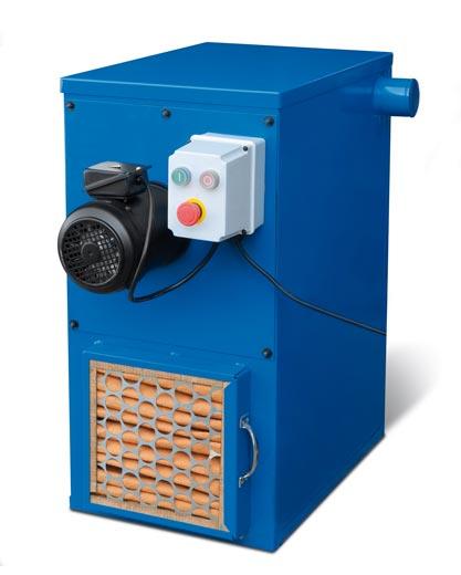 Metallkraft® 3922011 odsávání AS 1400 pro pásové brusky na kov