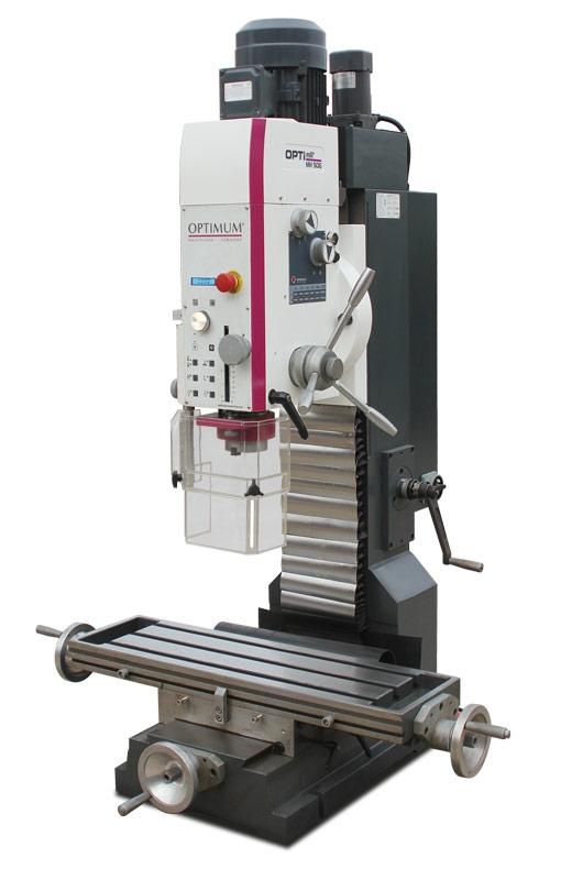 OPTIMUM 3338180 vrtačko-frézka OPTImill MH 50 G