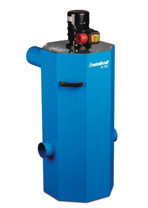 Metallkraft® 3922006 odsávání AS 1601 pro pásové brusky na kov