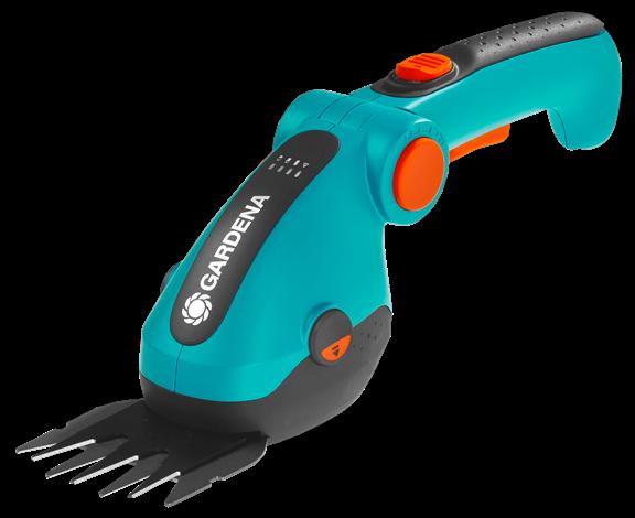 GARDENA akumulátorové nůžky na trávu a keře ComfortCut - sada 9857-20