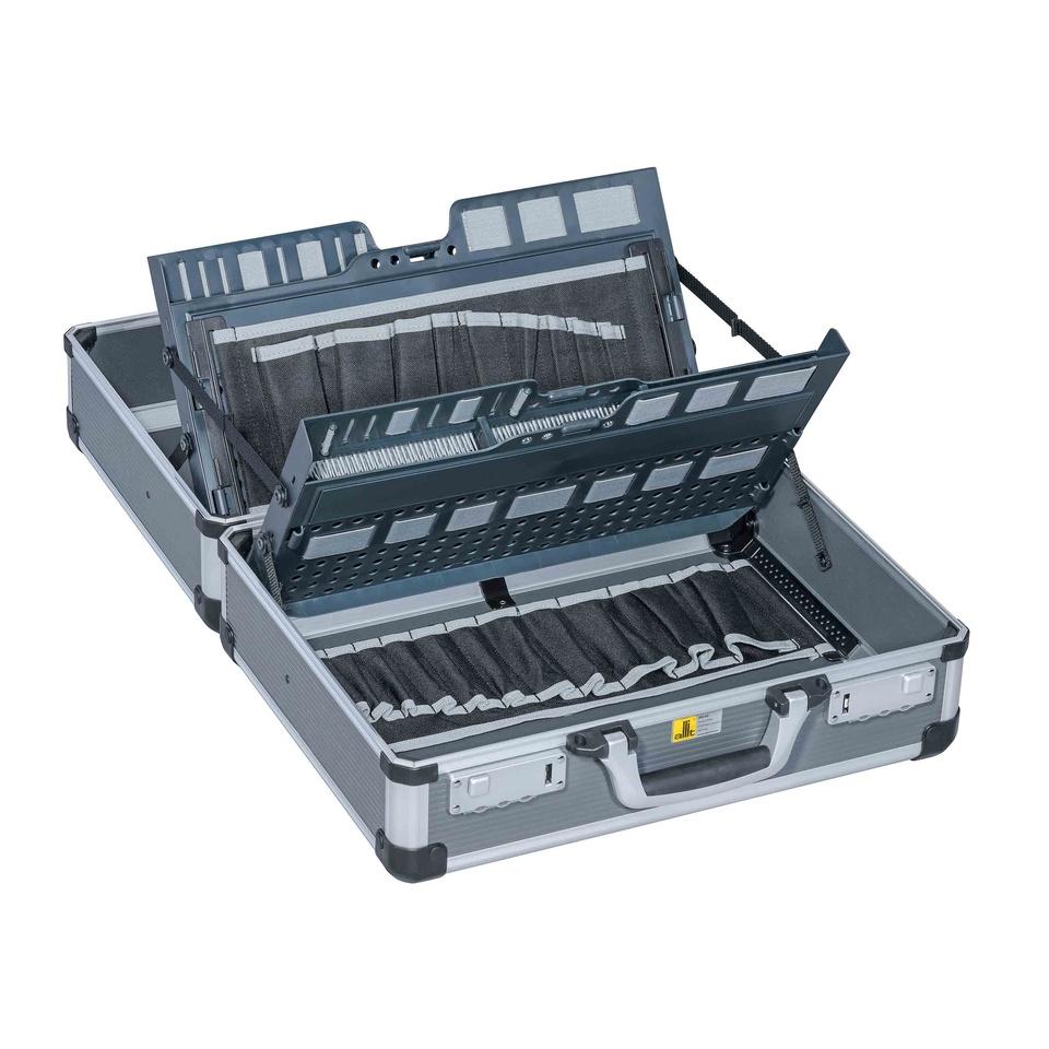 Allit 427220 Hliníkový montážní kufřík AluPlus Service >C<44-2, antracit