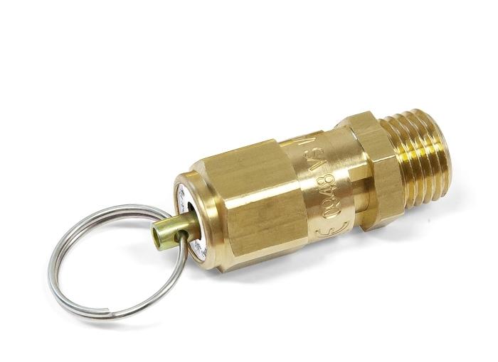 "Aircraft® BOW 220244 Pojistný ventil 1/4"" - 10,3 bar CE"