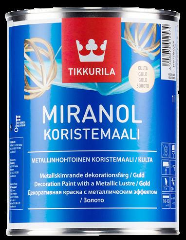 Tikkurila MIRANOL DECORATIVE GOLD PAINT 0,1 L