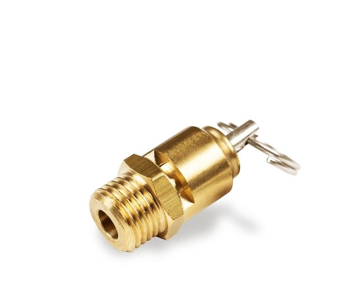 "Aircraft® BOW 2507210 Pojistný ventil 10 bar, 1/4"", CE 97/23"