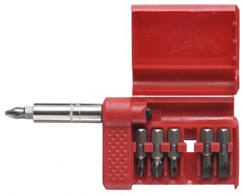WITTE Sada bitů COMBIT-BOX se 6 bity a magnetickým držákem 27620