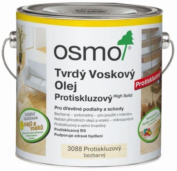 OsmoColor OSMO 3088 Tvrdý voskový olej protiskluzný R9