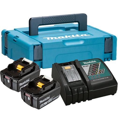 Makita 197494-9 sada baterii BL1840 + nabíječka