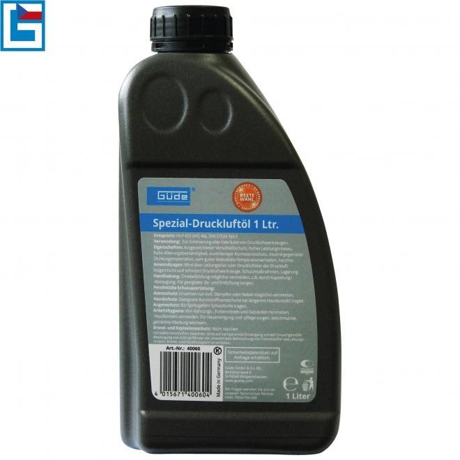 GÜDE olej pro pneumatické nářadí 1 l (HLP 425)
