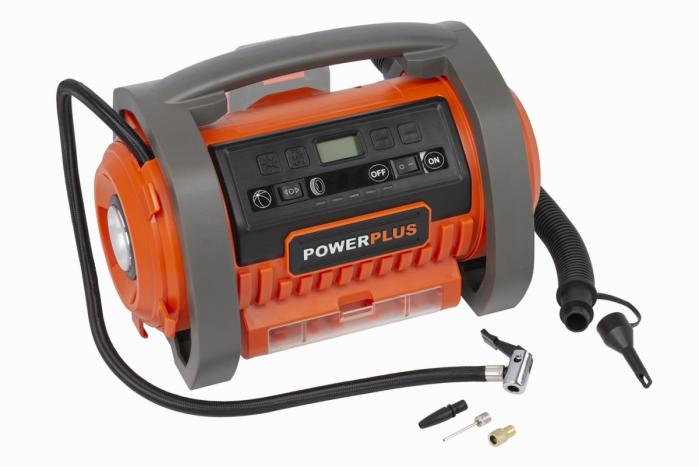 POWERPLUS POWDP7040 aku kompresor 20V